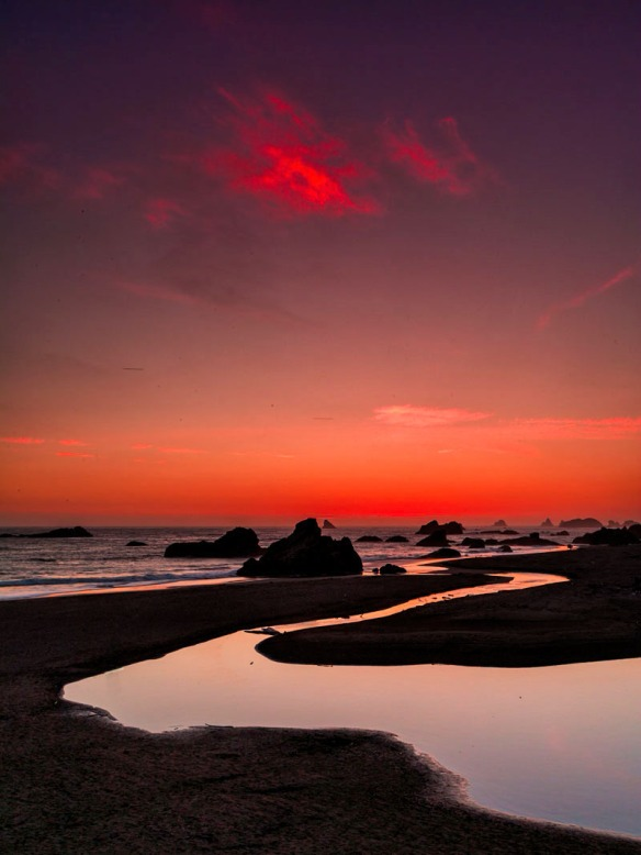 Brookings - Harris Beach sunset
